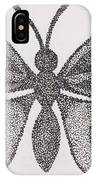 Dotted Butterfly IPhone Case
