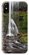 Double Falls In Silver Falls State Park In Oregon IPhone Case