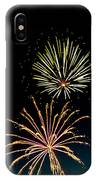 Double Fireworks Blast IPhone Case