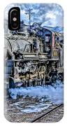 Double Header Nevada Northern Railway #1 IPhone Case