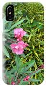 Double Oleander IPhone Case