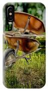 Double Wheelbarrow IPhone Case