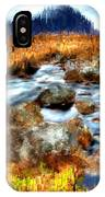 Down By The Brook IPhone Case
