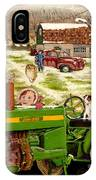 Down On The Farm IPhone X Case