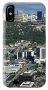 Downtown Anchorage Alaska IPhone Case