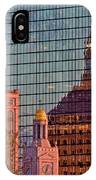 Downtown Boston Reflection IPhone Case