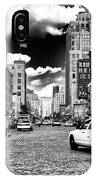 Downtown Cab Ride IPhone Case