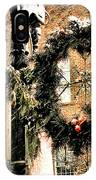 Downtown Christmas IPhone Case