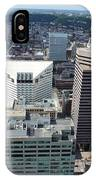 Downtown Cincinnati Form The Top Of Karew Tower 3 IPhone Case