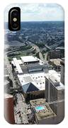 Downtown Cincinnati Form The Top Of Karew Tower IPhone Case