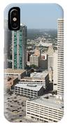 Downtown Fort Worth Skyline IPhone Case