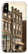 Downtown Jonesborough IPhone Case