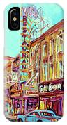 Downtown Montreal IPhone Case