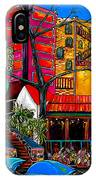 Downtown On The River IPhone Case