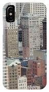 Downtown Pittsburgh From Mount Washington IPhone Case