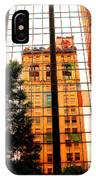 Downtown Reflection IPhone Case