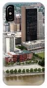 Downtown Skyline Of Toledo Ohio IPhone Case