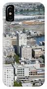 Downtown Tacoma Washington IPhone Case