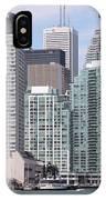 Downtown Toronto Ontario IPhone Case