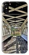 Dr. Knisely Covered Bridge IPhone Case
