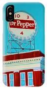 Dr Pepper Sign Roanoke Virginia IPhone Case