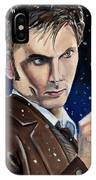 Dr Who #10 - David Tennant IPhone Case