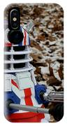 Dr Who - Forest Dalek IPhone Case