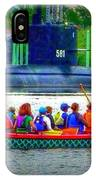 Dragon Boat Challenges Submarine  IPhone Case