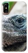 Dragon Lizzard Portrait Closeup IPhone Case