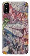 Dragonflies And Daisies IPhone Case