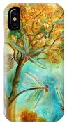 Dragonfly Flirtation IPhone Case