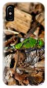 Dragonfly In Mulch IPhone Case