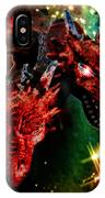 Dragons W/border IPhone Case