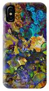 Dramatic Blooms 01 IPhone Case