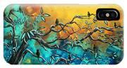 Dream Watchers Original Abstract Bird Painting IPhone Case