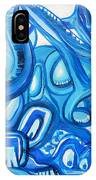 Dreaming In Blue IPhone Case