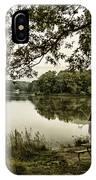 Dreaming Of Fishing At Argyle Lake IPhone Case