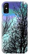 Dreaming Of Spring Through Icy Trees IPhone Case