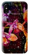 Drenched Flowers IPhone Case