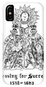 Dressing For Success 1558-1603 IPhone X Case