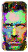 Dr. House Portrait - Abstract IPhone Case