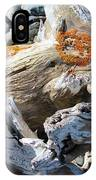 Driftwood Abstract IPhone Case