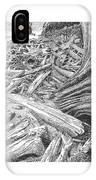 Critter In The Driftwood  IPhone Case