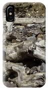 Driftwood Mt. Rainier  IPhone Case