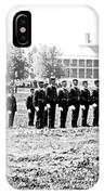 Drilling Soldiers Jefferson Barracks Us Army C 1895 IPhone Case