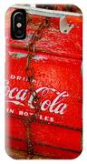 Drink Coke In Bottles IPhone Case