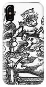 Drinking Party, 1516 IPhone Case