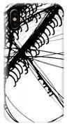 Drippy Circles Black IPhone Case
