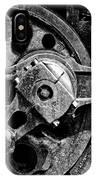 Drive Wheel - 190 - Bw IPhone Case