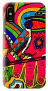 Driven To Abstraction - Parts And Pieces IPhone Case